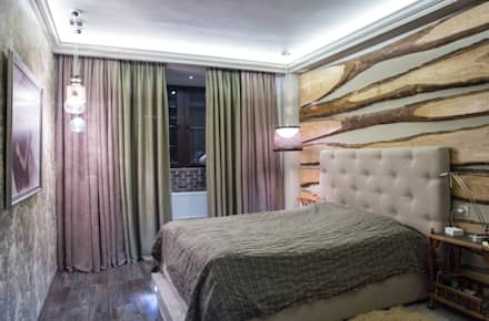 Берлога Олеси: Спальни в . Автор – АртЭрия