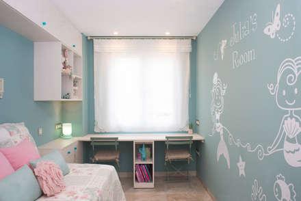 Dormitorios infantiles de estilo mediterraneo por Fran Clausell · Interiorismo Sostenible