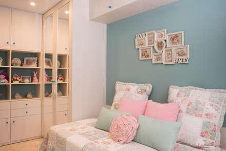 VIVIENDA C46: Dormitorios infantiles de estilo mediterráneo de Fran Clausell · Interiorismo Sostenible