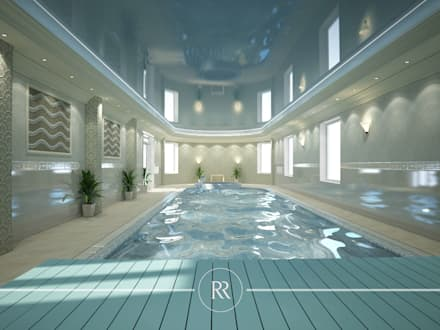Kingsbridge: Бассейн в . Автор – ROSKO Family Design