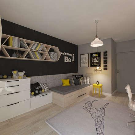 Pokój dla juniora: styl , w kategorii Pokój dziecięcy zaprojektowany przez living box