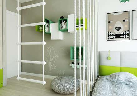 Pokój dziecięcy z liskiem: styl , w kategorii Pokój dziecięcy zaprojektowany przez living box