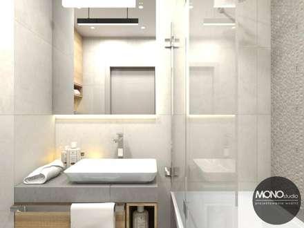 Łazienka: styl , w kategorii Łazienka zaprojektowany przez MONOstudio