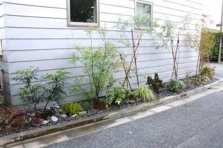 和田の庭: Shikinowa Designが手掛けた庭です。