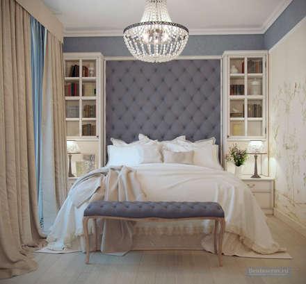 Дизайн спальни в стиле прованс: Спа в . Автор – Студия интерьера Дениса Серова