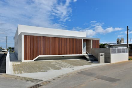 ファサード: プラソ建築設計事務所が手掛けた家です。