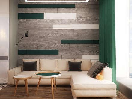 Cosy loft: Гостиная в . Автор – Надежда  Шульга