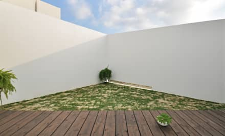 SMD-HOUSE: 門一級建築士事務所が手掛けた庭です。