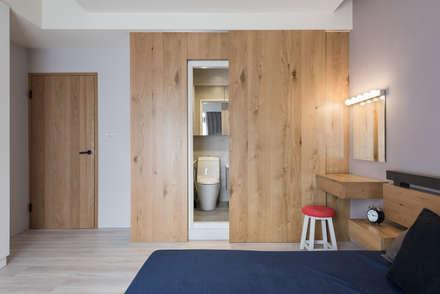scandinavian Bedroom by 思維空間設計
