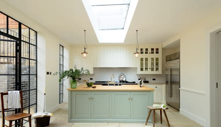 The Islington N1 Kitchen By Devol Clic Kitchens