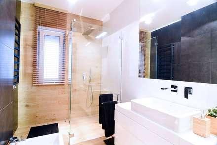 Łazienka: styl , w kategorii Łazienka zaprojektowany przez AS Design Wnętrza
