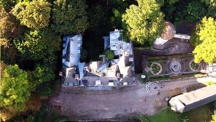 Quelques exemples de prises de vues aériennes: Jardin d'hiver de style  par Drone-malin