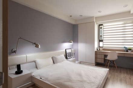 ห้องนอน by 思維空間設計