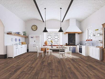 My Floor Villa: Paredes de estilo  de Verde y Madera