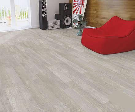 My Floor Lodge: Paredes de estilo  de Verde y Madera
