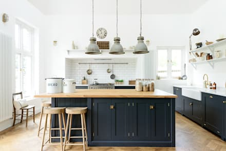 The Arts And Crafts Kent Kitchen By DeVOL: Industrial Kitchen By DeVOL  Kitchens Part 78