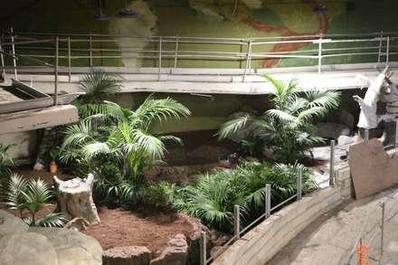 Primeras plantaciones.: Museos de estilo  de GreenerLand. Arquitectura Paisajista y Tematización