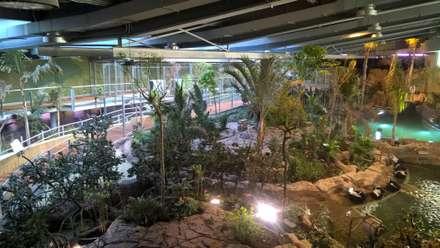 Area Central.: Museos de estilo  de GreenerLand. Arquitectura Paisajista y Tematización