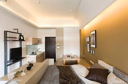 夢想中的家:  客廳 by 禾光室內裝修設計 ─ Her Guang Design