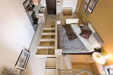 Phòng ngủ by 禾光室內裝修設計 ─ Her Guang Design