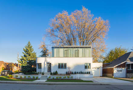 The Hambly House: minimalistic Houses by dpai architecture inc