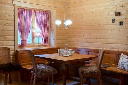 : rustic Dining room by Pamela Kilcoyne - Homify