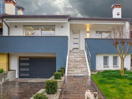 SF HOUSE: Case in stile in stile Minimalista di SANSON ARCHITETTI