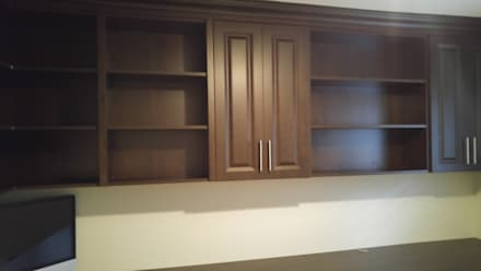 Jetha - October 21 2016: classic Study/office by Space Age Custom Closets & Cabinetry