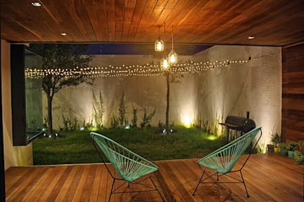 Terrace by Narda Davila arquitectura