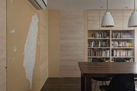 十畝之間:  餐廳 by 禾光室內裝修設計 ─ Her Guang Design