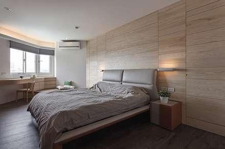 Dormitorios de estilo rústico por 禾光室內裝修設計 ─ Her Guang Design
