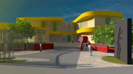 Centro Cultural Pie de la Popa.: Escuelas de estilo  por Contextual Estudio