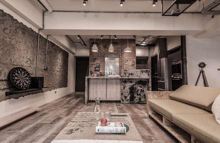 竹東 PC House:  花園 by 丰墨設計 | Formo design studio