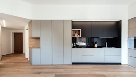 scandinavian Kitchen by Tommaso Giunchi Architect