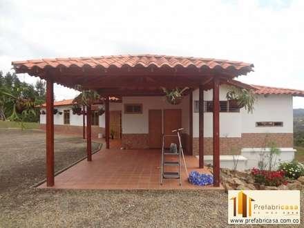 tropical Houses by PREFABRICASA