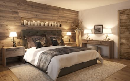 country Bedroom by Go Interiors GmbH