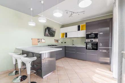 Ingresso Soggiorno Open Space.Soggiorno Cucina Open Space Moderno Elegant Cucina Con Soggiorno In