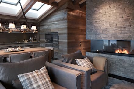 country Living room by Go Interiors GmbH