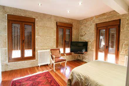 Dormitorio: Dormitorios de estilo rústico de NAM ARQUITECTOS SLP