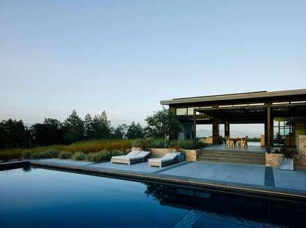 Healdsburg I: modern Houses by Feldman Architecture