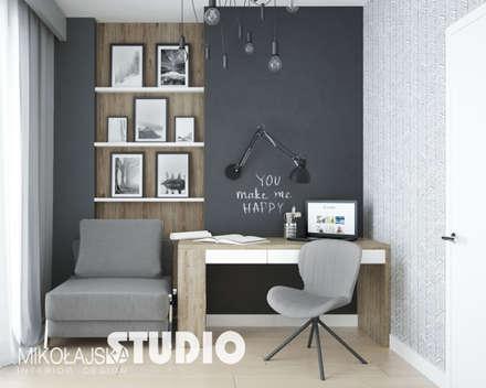 pokój córki: styl , w kategorii Pokój dziecięcy zaprojektowany przez MIKOŁAJSKAstudio
