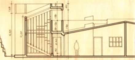 Proyecto de Ampliacion Vivienda Urbanizacion Canaima II. Guatire Estado Miranda : Jardines de estilo moderno por Arquitectura Feng Shui Laura Ramirez
