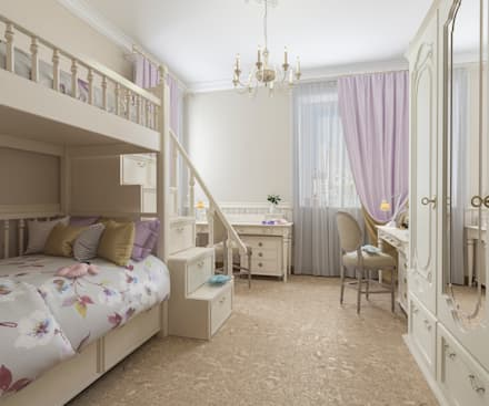 rustic Nursery/kid's room by Бюро9 - Екатерина Ялалтынова