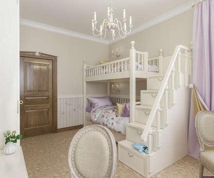 غرفة الاطفال تنفيذ Бюро9 - Екатерина Ялалтынова