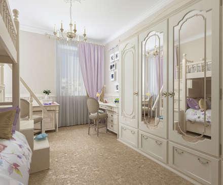 Детская комната: Детские комнаты в . Автор – Бюро9 - Екатерина Ялалтынова
