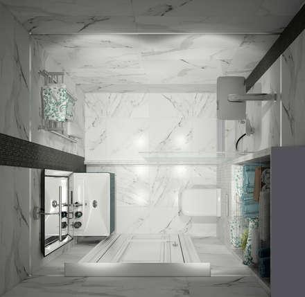 "Душевая комната ""for dad"": classic Bathroom by СТУДИЯ   'ДА' ДАРЬИ АРХИПОВОЙ"