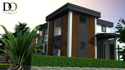 DO DESIGN – ÇEŞME VİLLA PROJESİ : modern tarz Evler