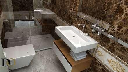 DO DESIGN – ÇEŞME VİLLA PROJESİ : modern tarz Banyo