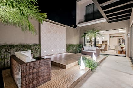modern Conservatory by TRÍADE ARQUITETURA