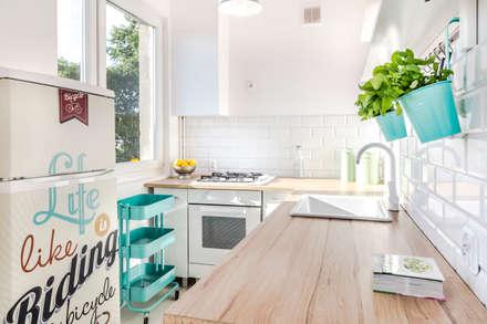 : styl , w kategorii Kuchnia zaprojektowany przez Pasja Do Wnętrz